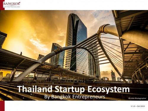 Thailand Startup Ecosystem 2015 Q4