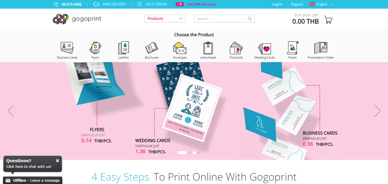 Gogoprint brings the solution for online printing in thailand gogoprint webg reheart Images